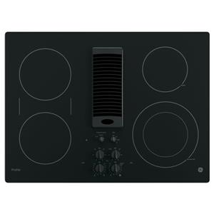 """GE Appliances GE Profile Electric Cooktops Profile™ Series 30"""" Downdraft Cooktop"""