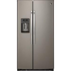 GE Appliances GE Profile Side-By-Side Refrigerators Profile 22.1 CuFt Counter-Depth Refrigerator