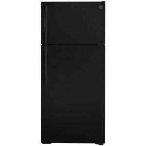16.6 Cu. Ft. Black Top Freezer Refrigerator