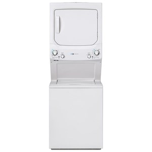 GE Unitized Spacemaker® ENERGY STAR® 3.9 cu. ft. Capacity Washer with Stainless Steel Basket and 5.9 cu. ft. Capacity Electric Dryer
