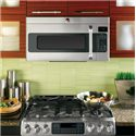 GE Appliances Microwaves  1.7 Cu. Ft. Cafe™ Over-the-Range Microwave with Fast Bake - GE Appliances Look Great In Kitchens