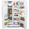 GE Appliances Side by Side Refrigerators - 2014 ENERGY STAR® 25.4 Cu. Ft. Side-By-Side Refrigerator