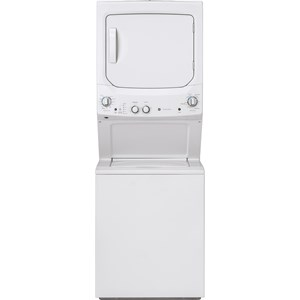 Unitized Spacemaker® 3.8 cu. ft. Capacity Washer with Stainless Steel Basket and 5.9 cu. ft. Capacity Gas Dryer