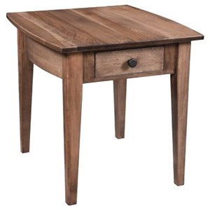 Amish Workbench Apple Creek End Table