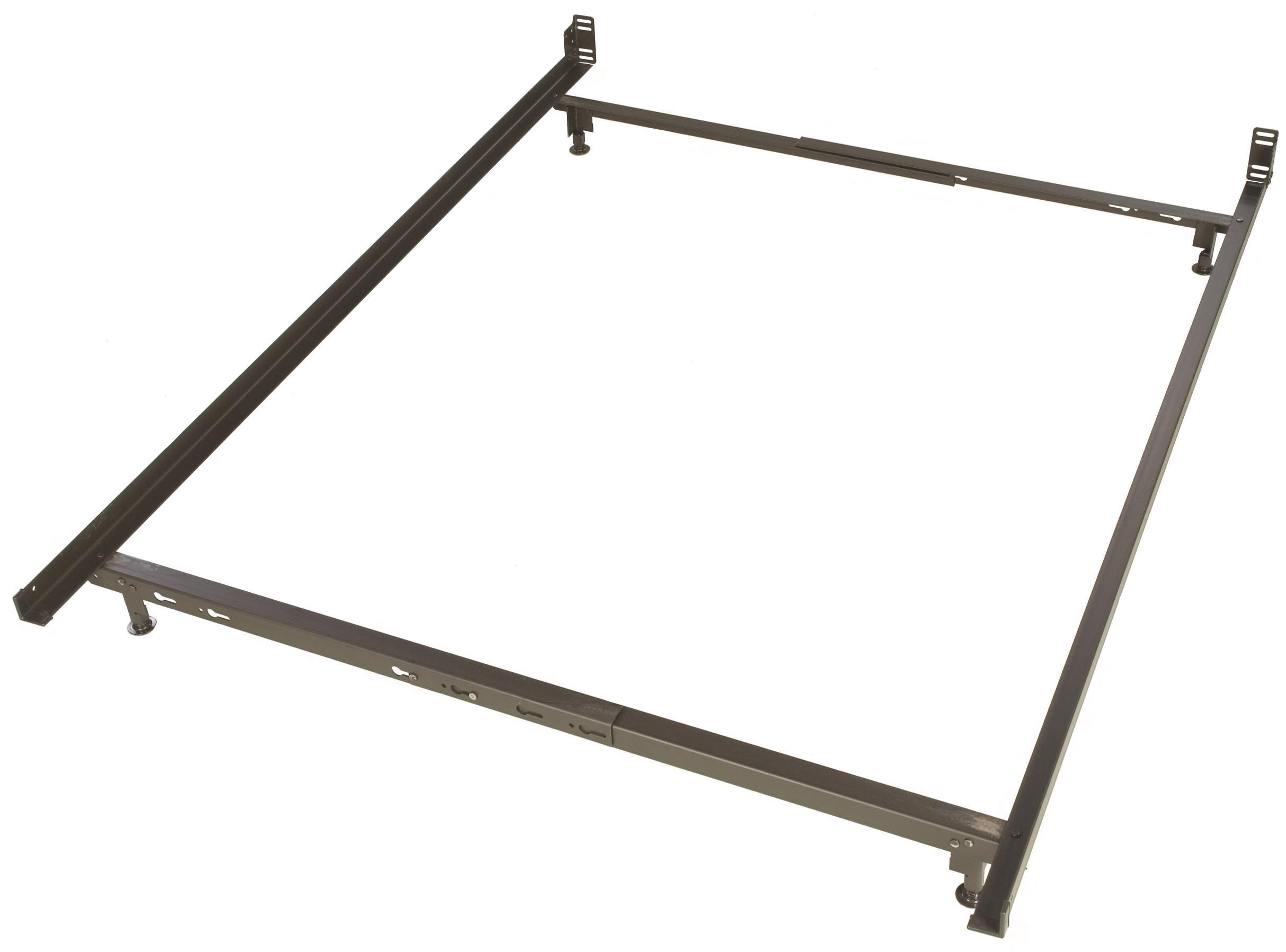 Glideaway Low Profile Bed Frames 4 Leg Twin / Full Low Profile Bed Frame - Item Number: LB24