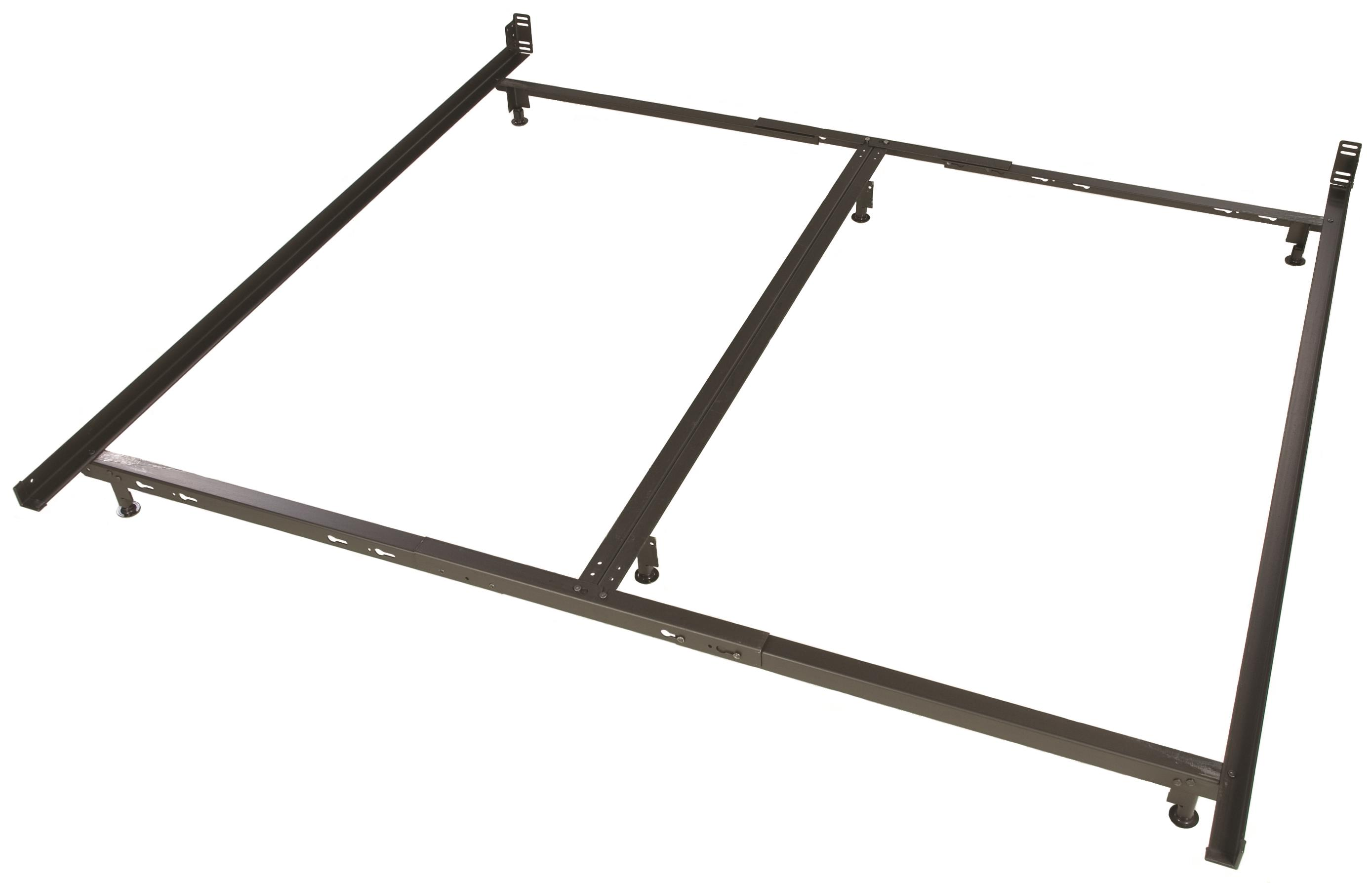 Glideaway Low Profile Bed Frames 6 Leg Low Profile King Frame - Item Number: LB44