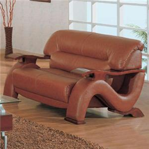 Contemporary Love Seat