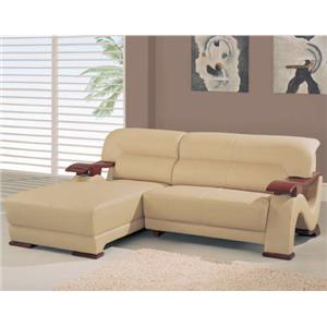 Global Furniture 2033 Contemporary Sectional with Chaise