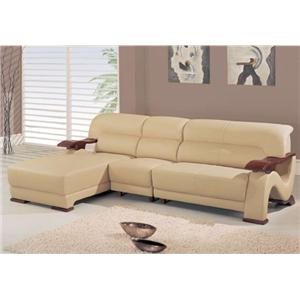 Global Furniture 2033 Contemporary L-Shaped Sectional