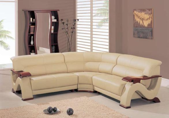 2033 Contemporary Sectional by Global Furniture at Rooms for Less