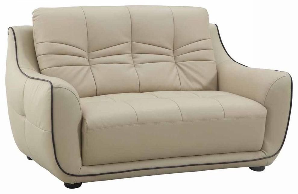 Global Furniture 2088 Beige Loveseat - Item Number: 2088