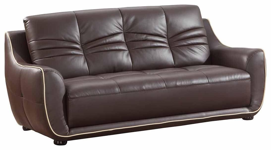 Global Furniture 2088 Brown Sofa - Item Number: 2088