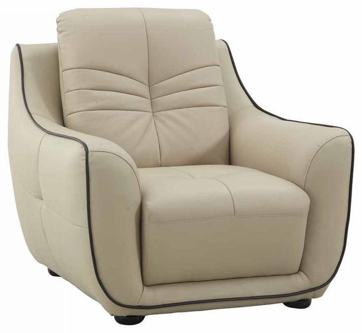 Global Furniture 2088 Beige Chair - Item Number: 2088