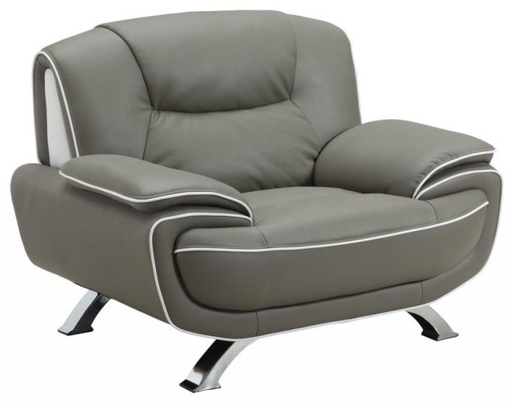 Global Furniture 405 Gray Chair - Item Number: 405