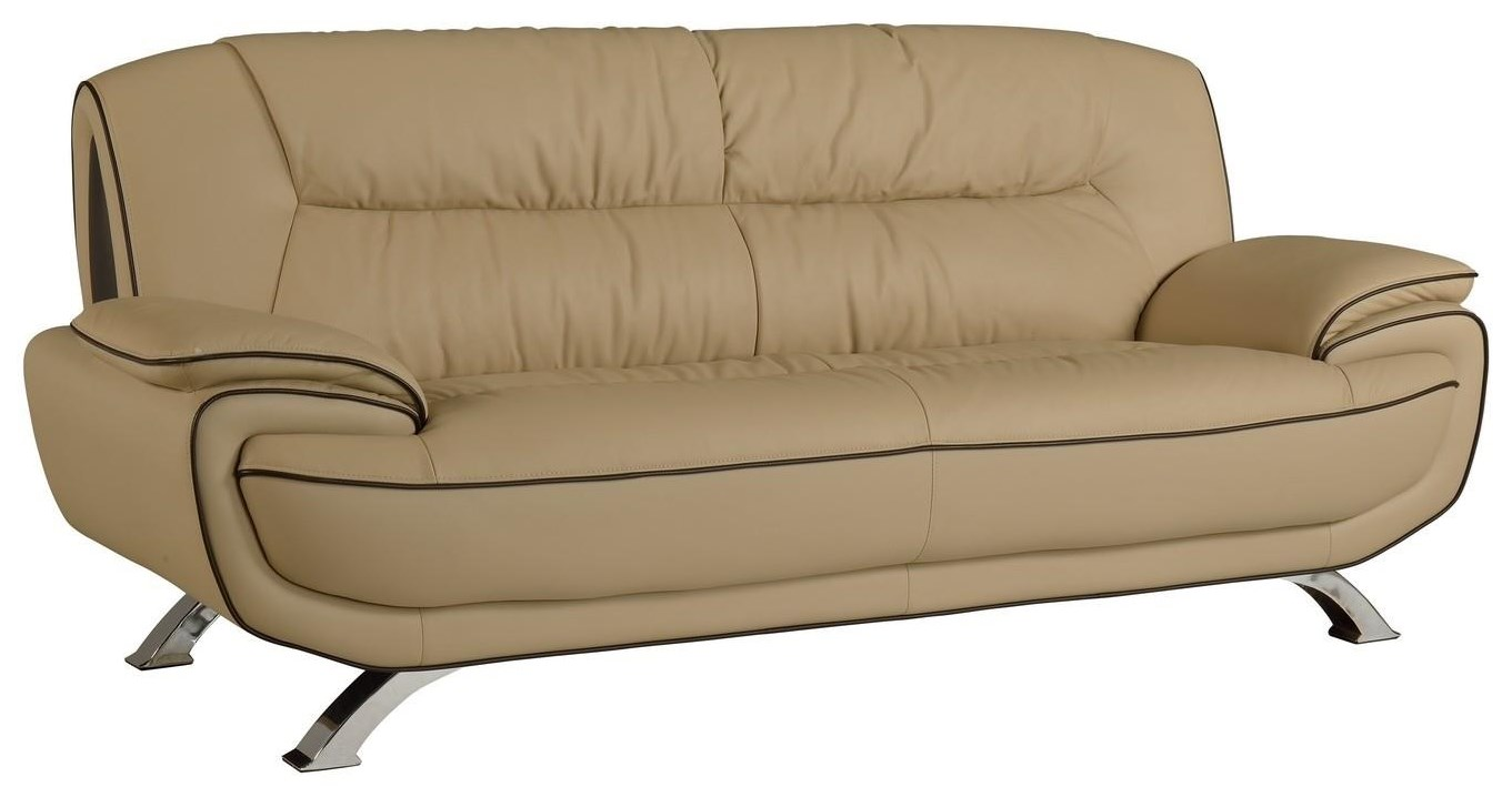 Global Furniture 405 Beige Sofa - Item Number: 405