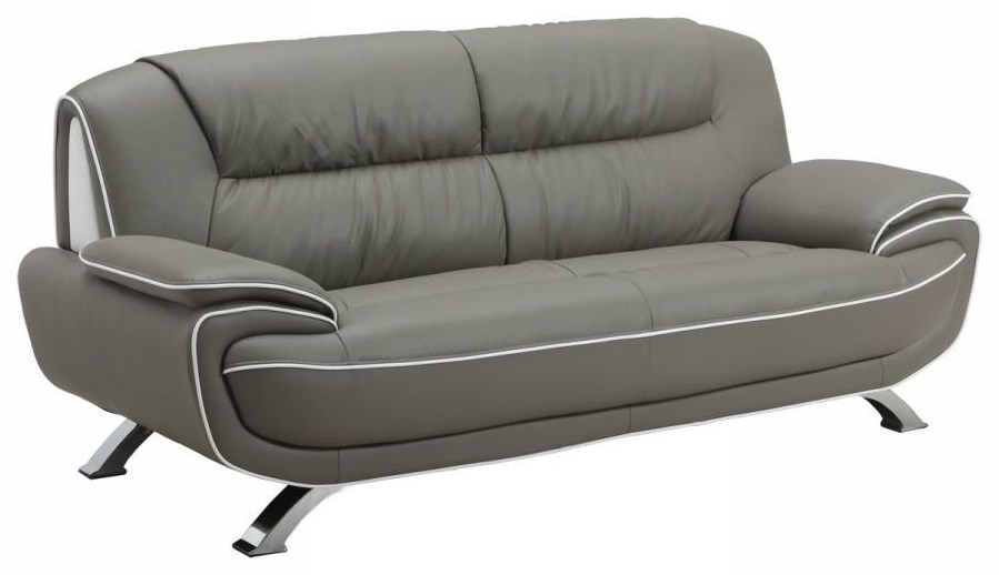 Global Furniture 405 Gray Sofa - Item Number: 405
