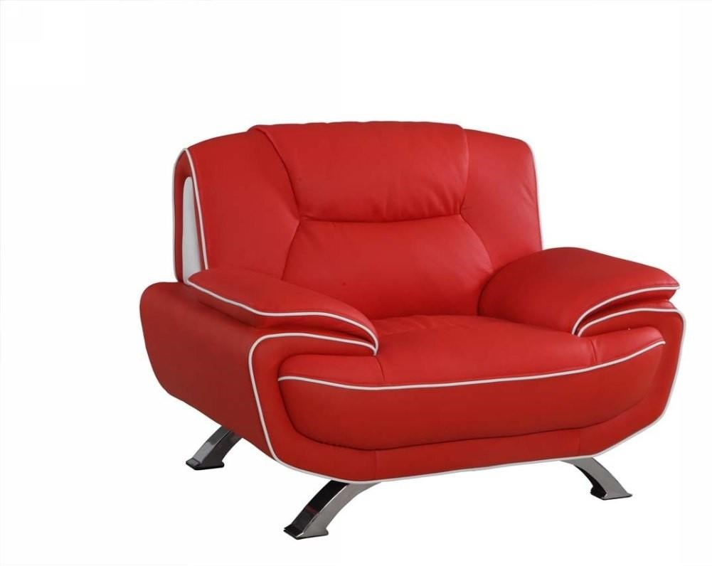 Global Furniture 405 Red Chair - Item Number: 405