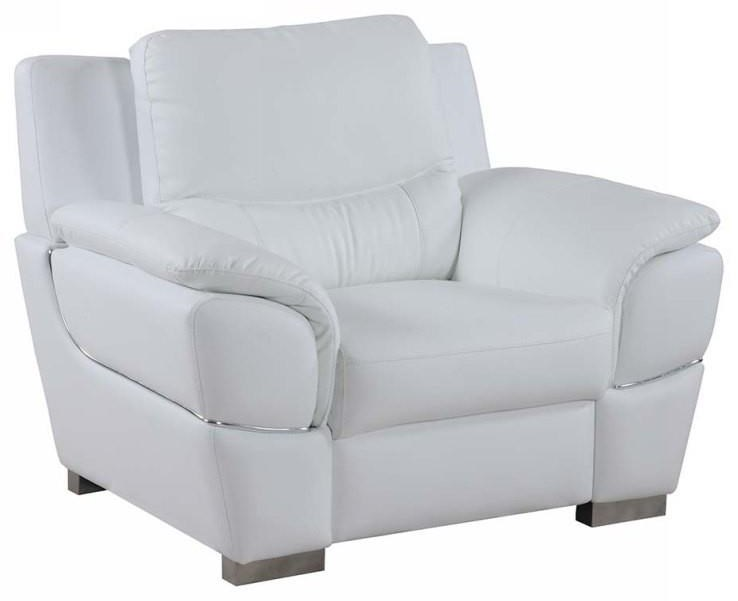 Global Furniture 4572 White Chair - Item Number: 4572