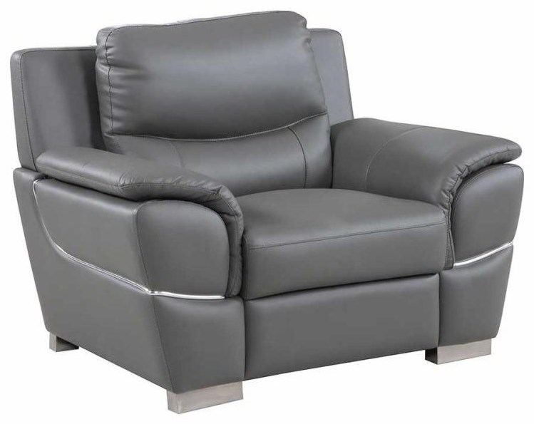 Global Furniture 4572 Gray Chair - Item Number: 4572