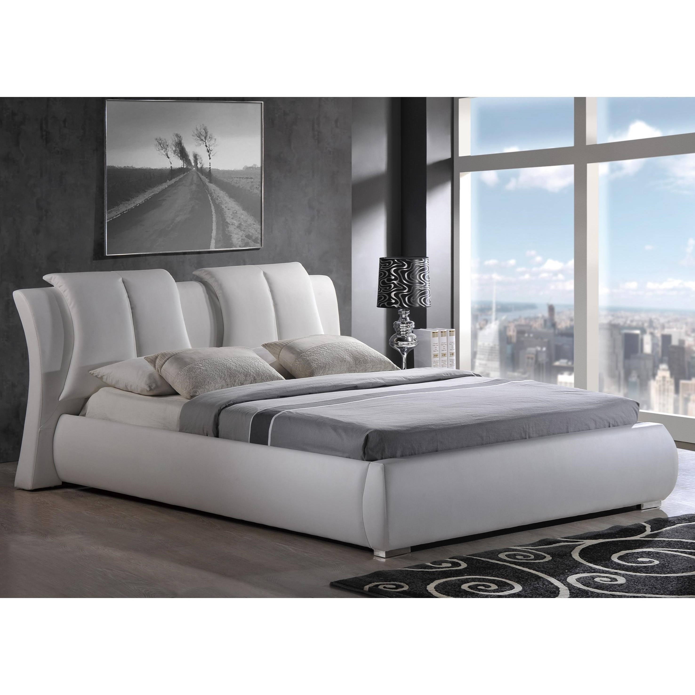 Padded Queen Bed