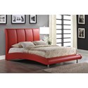 Global Furniture 8272 Arched Queen Bed - Item Number: 8272-R-QB