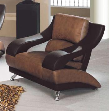 Global Furniture 928 Contemporary Chair - Item Number: 982-T/BR-CH