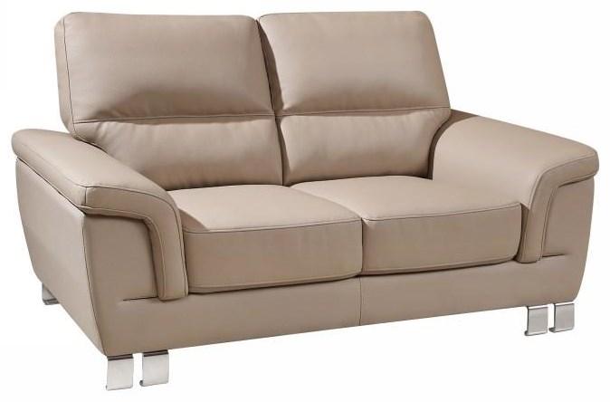 Beige Love Seat