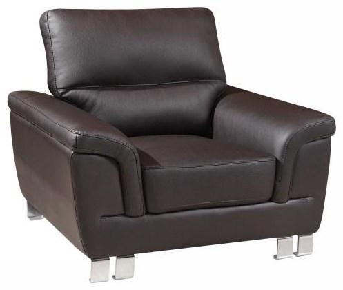 Global Furniture 9412 Brown Chair - Item Number: 9412