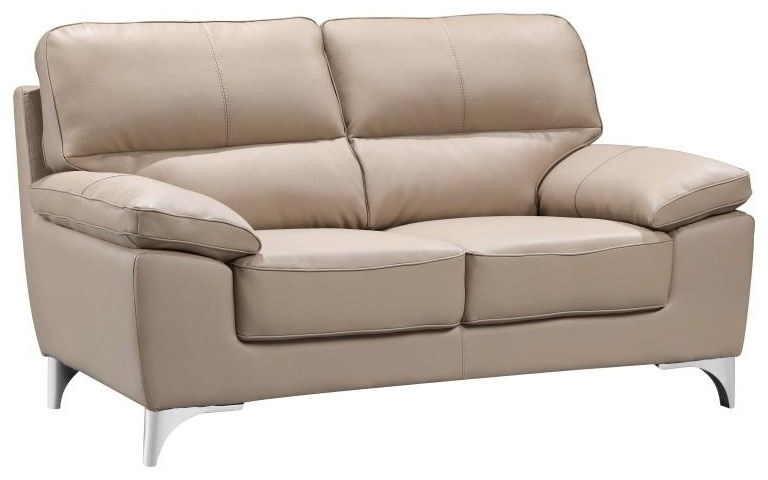 Global Furniture 9436 Beige Loveseat - Item Number: 9436