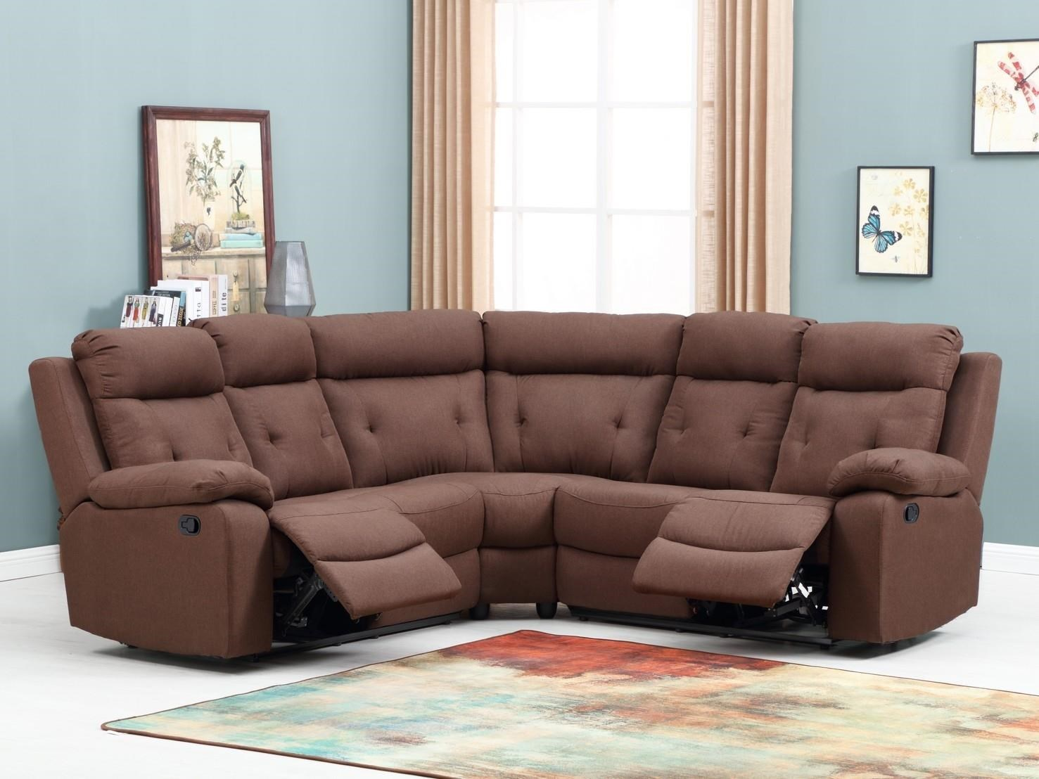 Global Furniture 9443 Reclining Sectional Sofa - Item Number: 9443