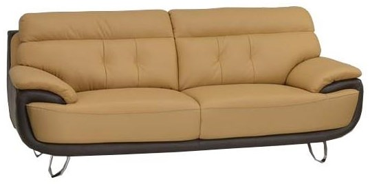 Global Furniture A159 Two-Tone Sofa - Item Number: A159
