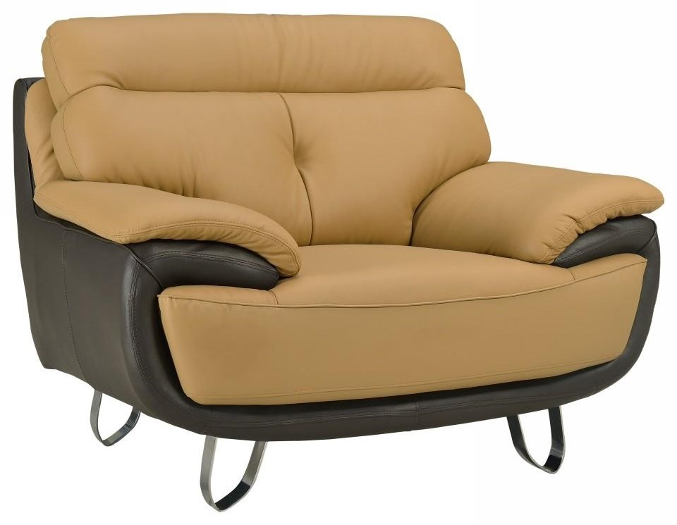 Global Furniture A159 Two-Tone Chair - Item Number: A159