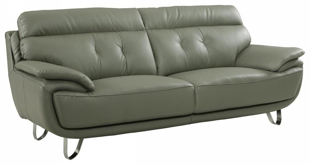 Global Furniture A159 Gray Sofa - Item Number: A159