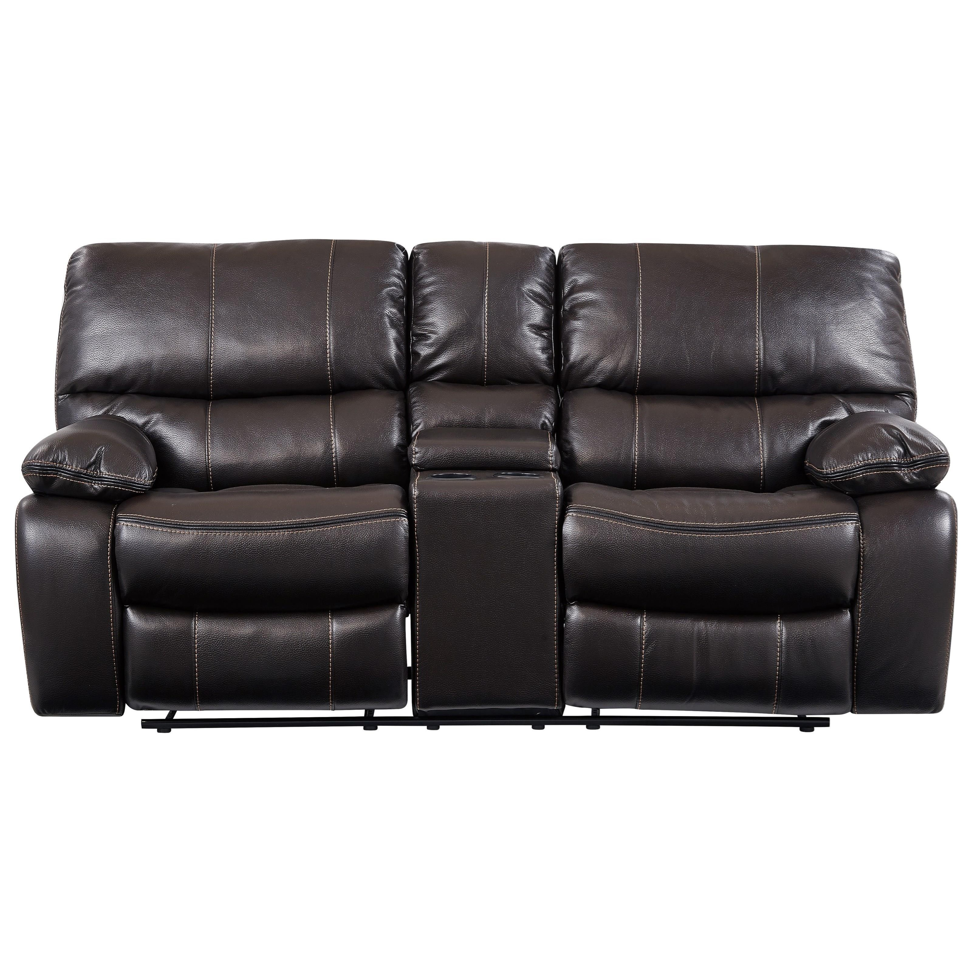 Agnes Reclining Loveseat with Console by Global Furniture at Value City Furniture