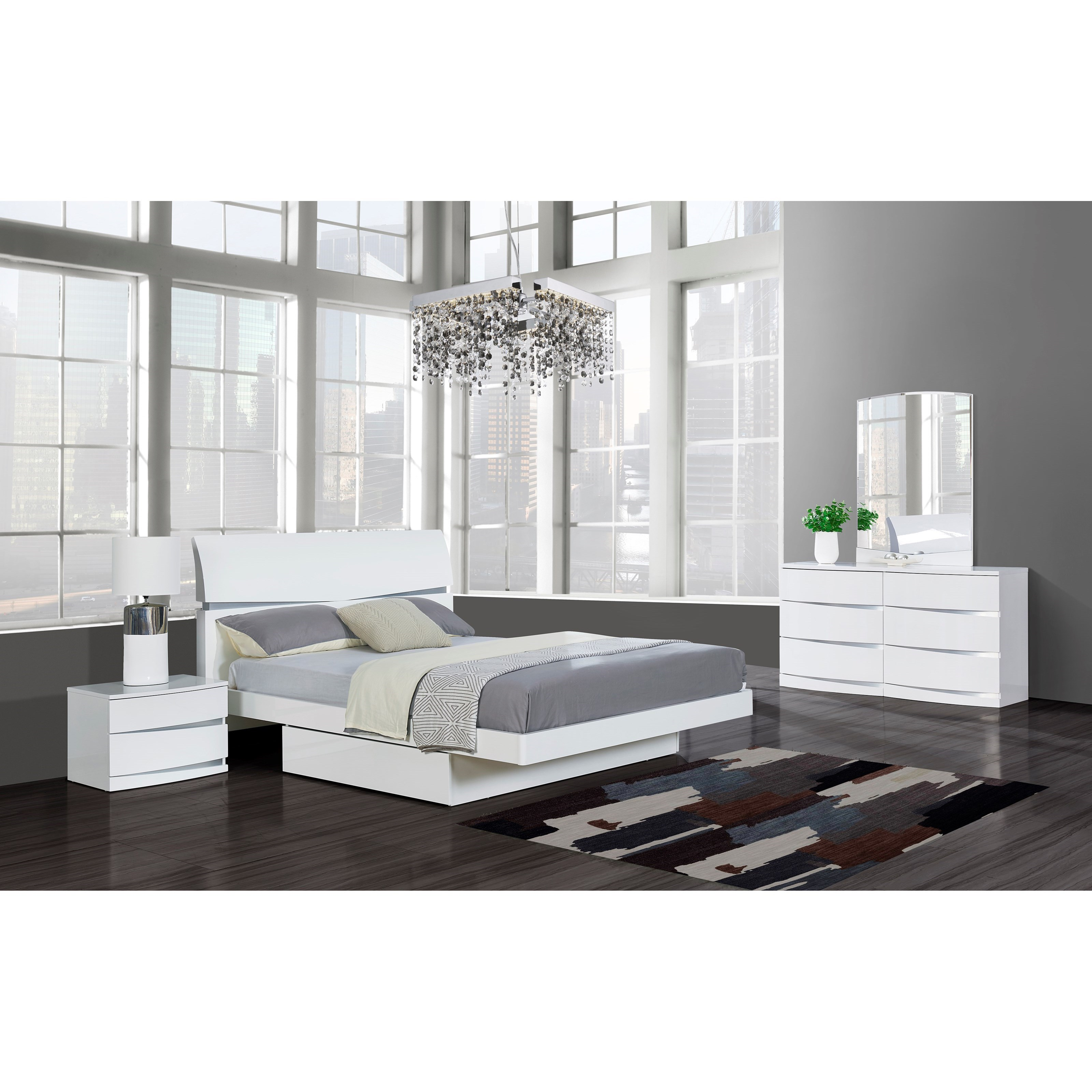 Aurora Queen Bedroom Group by Global Furniture at Value City Furniture