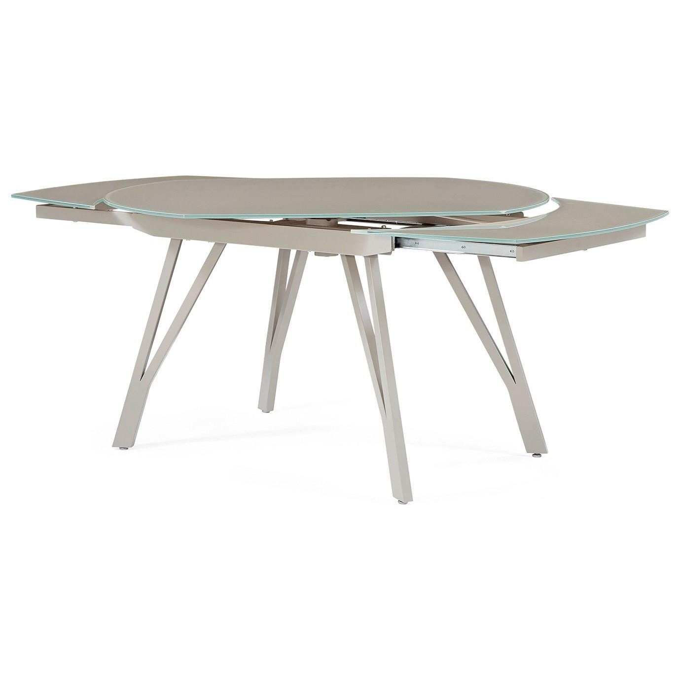 Global Furniture D2177 Contemporary Extendable Dining Table