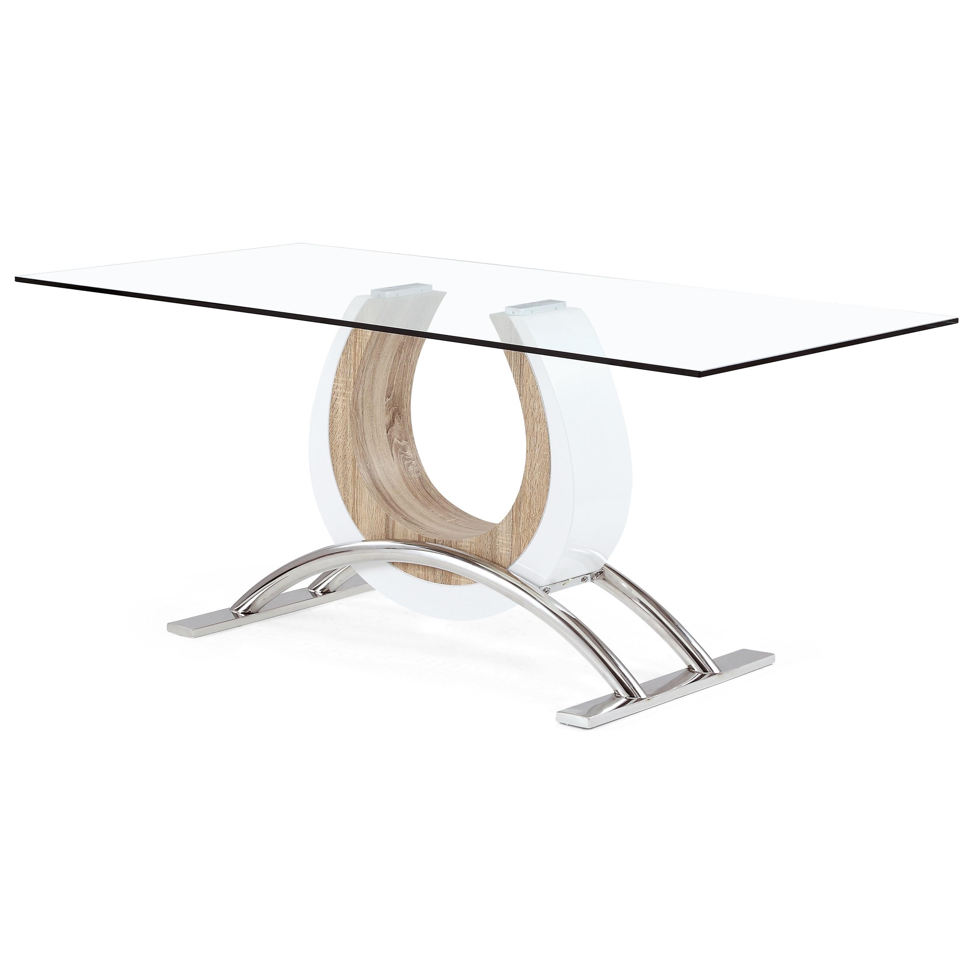 Horseshoe Base Dining Table