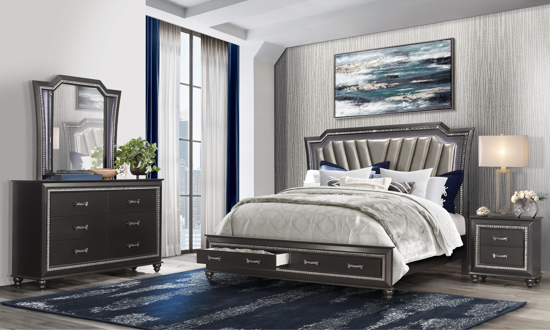 Hammett 4PC Full Bedroom Set at Rotmans