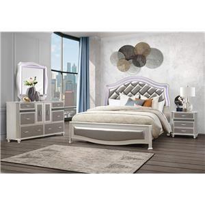 4PC King Bedroom Set
