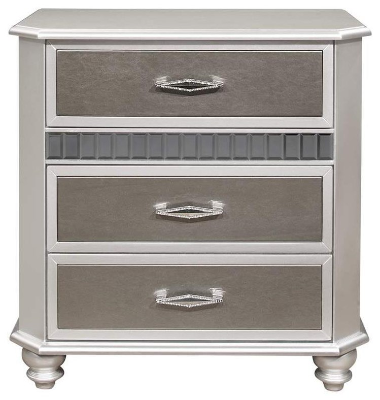 Remmington 3-Drawer Nightstand at Rotmans