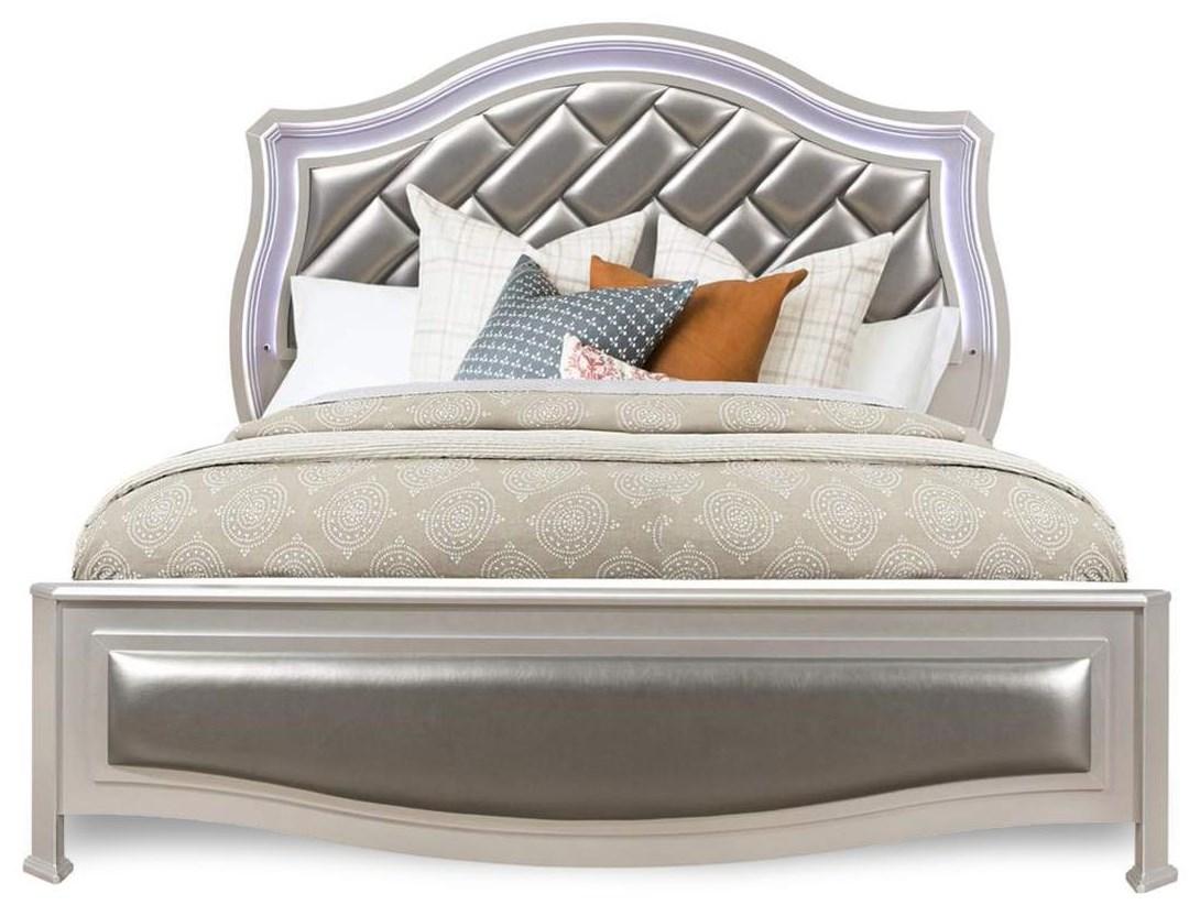 Remmington King Upholstered Bed at Rotmans