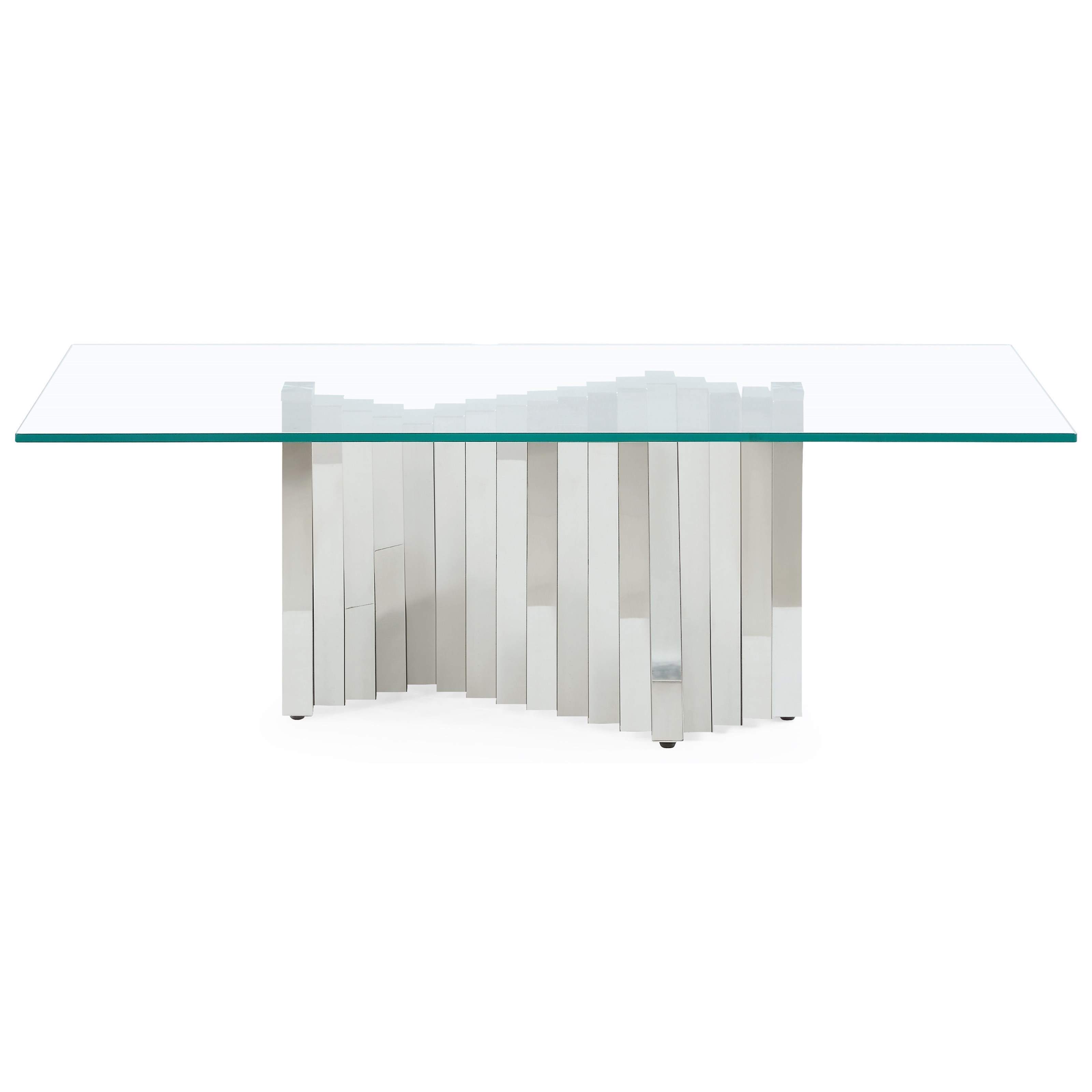 Accordion Style Base Cocktail Table