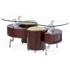 Coffee Table With Cushions