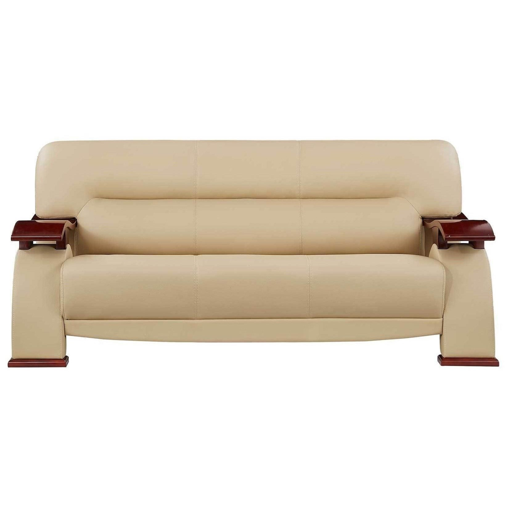 U2033 Sofa With Wood Arms By Global Furniture At Rooms For Less