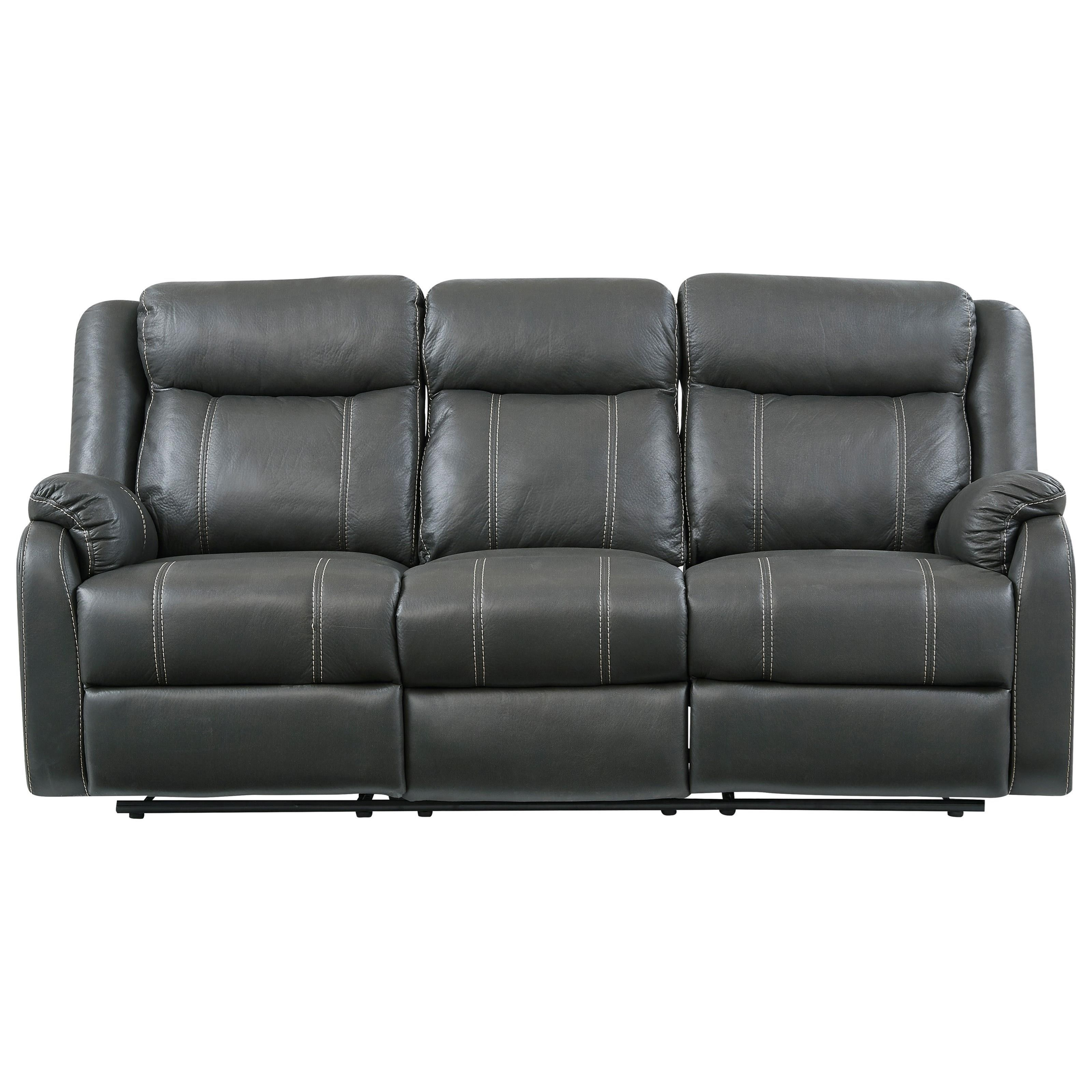 Recline Sofa with Dropdown