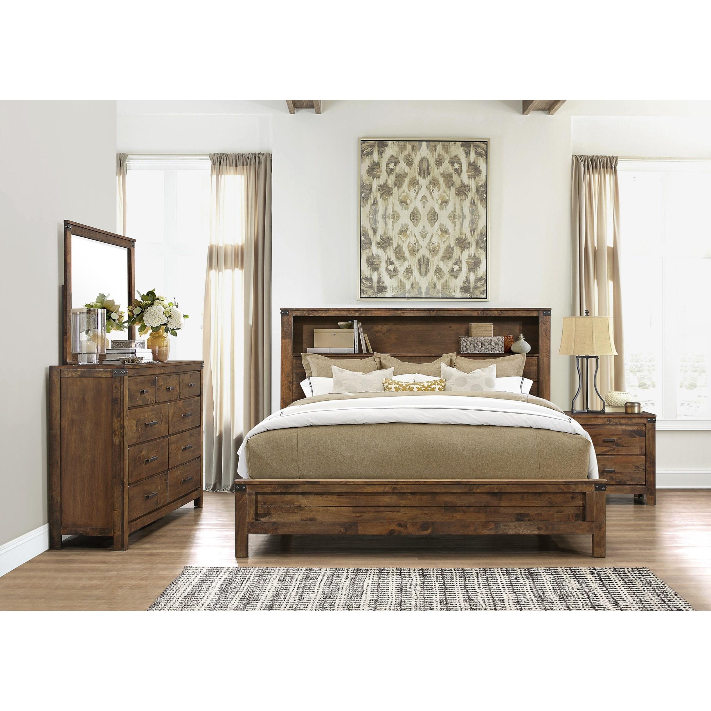 Bedroom Furniture Usa: Global Furniture Victoria King Bedroom Group