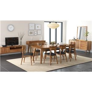 Global Home Berkeley 5 Piece Dining Package