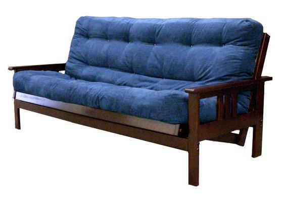 Gold Bond Mattress Company Futon Frames Sedona Full Size Futon w/ Mattress - Item Number: B1SDFJ+611-F