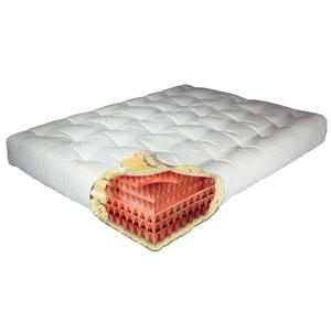 Gold Bond Mattress Company Futon Mattresses Feather Touch II Futon Mattress