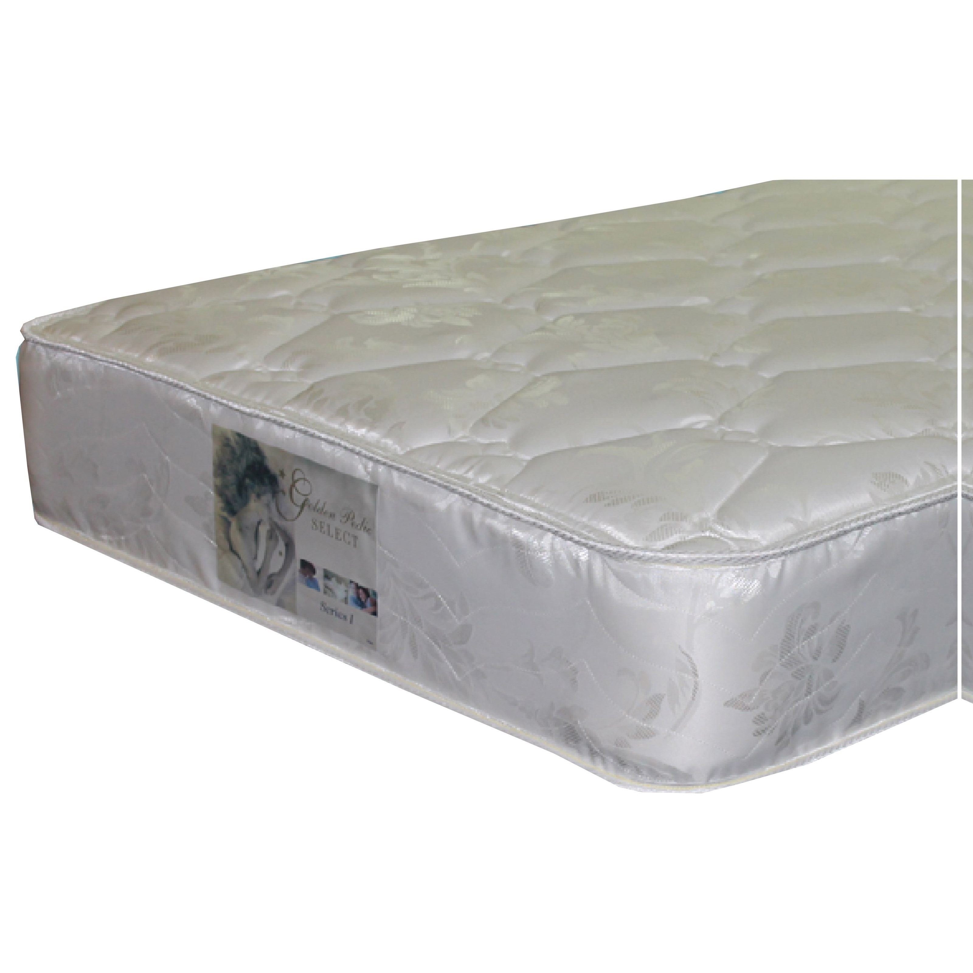 Golden Mattress Company 5-Series I Double Sided Plush Twin Two Sided Plush Mattress - Item Number: 5-SeriesIPL-T